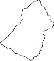 北海道日高振興局新ひだか町(しんひだかちょう)の白地図無料ダウンロード