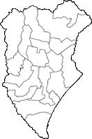 北海道十勝総合振興局十勝総合振興局(とかちそうごうしんこうきょく)の白地図無料ダウンロード