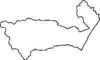 北海道十勝総合振興局大樹町(たいきちょう)の白地図無料ダウンロード