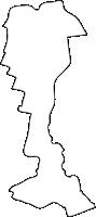 北海道十勝総合振興局幕別町(まくべつちょう)の白地図無料ダウンロード