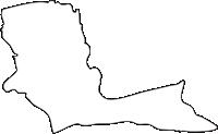 北海道釧路総合振興局釧路町(くしろちょう)の白地図無料ダウンロード