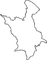 北海道釧路総合振興局標茶町(しべちゃちょう)の白地図無料ダウンロード