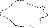 北海道根室振興局中標津町(なかしべつちょう)の白地図無料ダウンロード