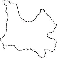 青森県青森市(あおもりし)の白地図無料ダウンロード