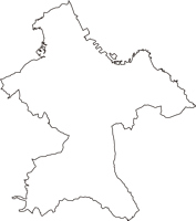 青森県八戸市(はちのへし)の白地図無料ダウンロード