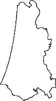 青森県つがる市(つがるし)の白地図無料ダウンロード
