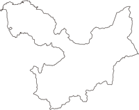 青森県平川市(ひらかわし)の白地図無料ダウンロード