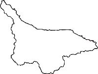 青森県下北郡風間浦村(かざまうらむら)の白地図無料ダウンロード