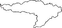 青森県三戸郡三戸町(さんのへまち)の白地図無料ダウンロード