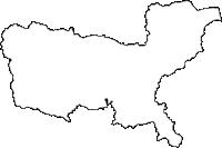 岩手県花巻市(はなまきし)の白地図無料ダウンロード