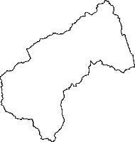 岩手県二戸市(にのへし)の白地図無料ダウンロード