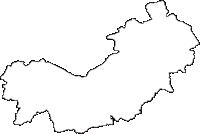 岩手県奥州市(おうしゅうし)の白地図無料ダウンロード