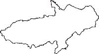 岩手県西磐井郡平泉町(ひらいずみちょう)の白地図無料ダウンロード