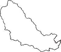 岩手県上閉伊郡大槌町(おおつちちょう)の白地図無料ダウンロード