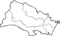 宮城県仙台市仙台市(せんだいし)の白地図無料ダウンロード