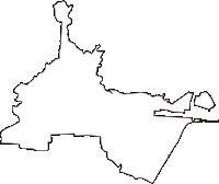 宮城県仙台市宮城野区(みやぎのく)の白地図無料ダウンロード