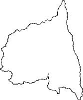 宮城県角田市(かくだし)の白地図無料ダウンロード