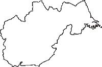 宮城県宮城郡利府町(りふちょう)の白地図無料ダウンロード