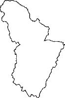 宮城県黒川郡大郷町(おおさとちょう)の白地図無料ダウンロード