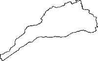 宮城県加美郡色麻町(しかまちょう)の白地図無料ダウンロード