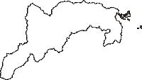 山形県西村山郡大江町(おおえまち)の白地図無料ダウンロード