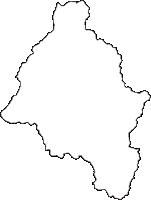 山形県最上郡最上町(もがみまち)の白地図無料ダウンロード