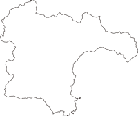 山形県最上郡真室川町(まむろがわまち)の白地図無料ダウンロード