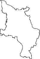 山形県東田川郡三川町(みかわまち)の白地図無料ダウンロード
