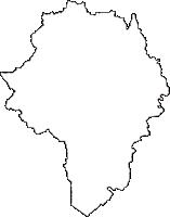 福島県石川郡古殿町(ふるどのまち)の白地図無料ダウンロード
