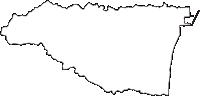 福島県双葉郡広野町(ひろのまち)の白地図無料ダウンロード