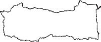 福島県双葉郡大熊町(おおくままち)の白地図無料ダウンロード