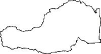 福島県双葉郡双葉町(ふたばまち)の白地図無料ダウンロード