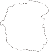 福島県相馬郡飯舘村(いいたてむら)の白地図無料ダウンロード
