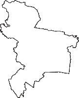 茨城県土浦市(つちうらし)の白地図無料ダウンロード