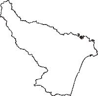 茨城県北茨城市(きたいばらきし)の白地図無料ダウンロード