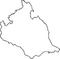 茨城県つくばみらい市(つくばみらいし)の白地図無料ダウンロード