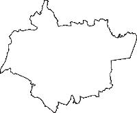 茨城県東茨城郡茨城町(いばらきまち)の白地図無料ダウンロード