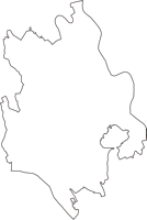 茨城県結城郡八千代町(やちよまち)の白地図無料ダウンロード