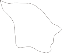 茨城県猿島郡五霞町(ごかまち)の白地図無料ダウンロード