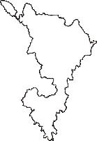 栃木県栃木市(とちぎし)の白地図無料ダウンロード