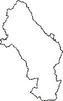 栃木県佐野市(さのし)の白地図無料ダウンロード