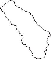 栃木県矢板市(やいたし)の白地図無料ダウンロード
