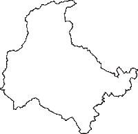 栃木県那須塩原市(なすしおばらし)の白地図無料ダウンロード