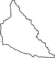 栃木県塩谷郡塩谷町(しおやまち)の白地図無料ダウンロード