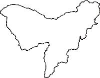 群馬県富岡市(とみおかし)の白地図無料ダウンロード