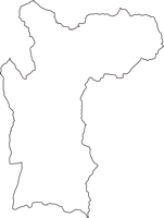 群馬県吾妻郡長野原町(ながのはらまち)の白地図無料ダウンロード