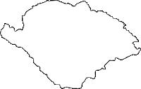 埼玉県比企郡鳩山町(はとやままち)の白地図無料ダウンロード