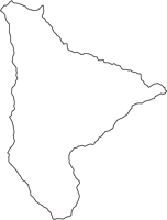 埼玉県秩父郡東秩父村(ひがしちちぶむら)の白地図無料ダウンロード
