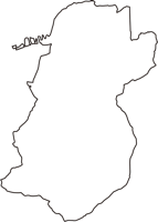 埼玉県児玉郡美里町(みさとまち)の白地図無料ダウンロード