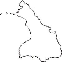 千葉県富津市(ふっつし)の白地図無料ダウンロード